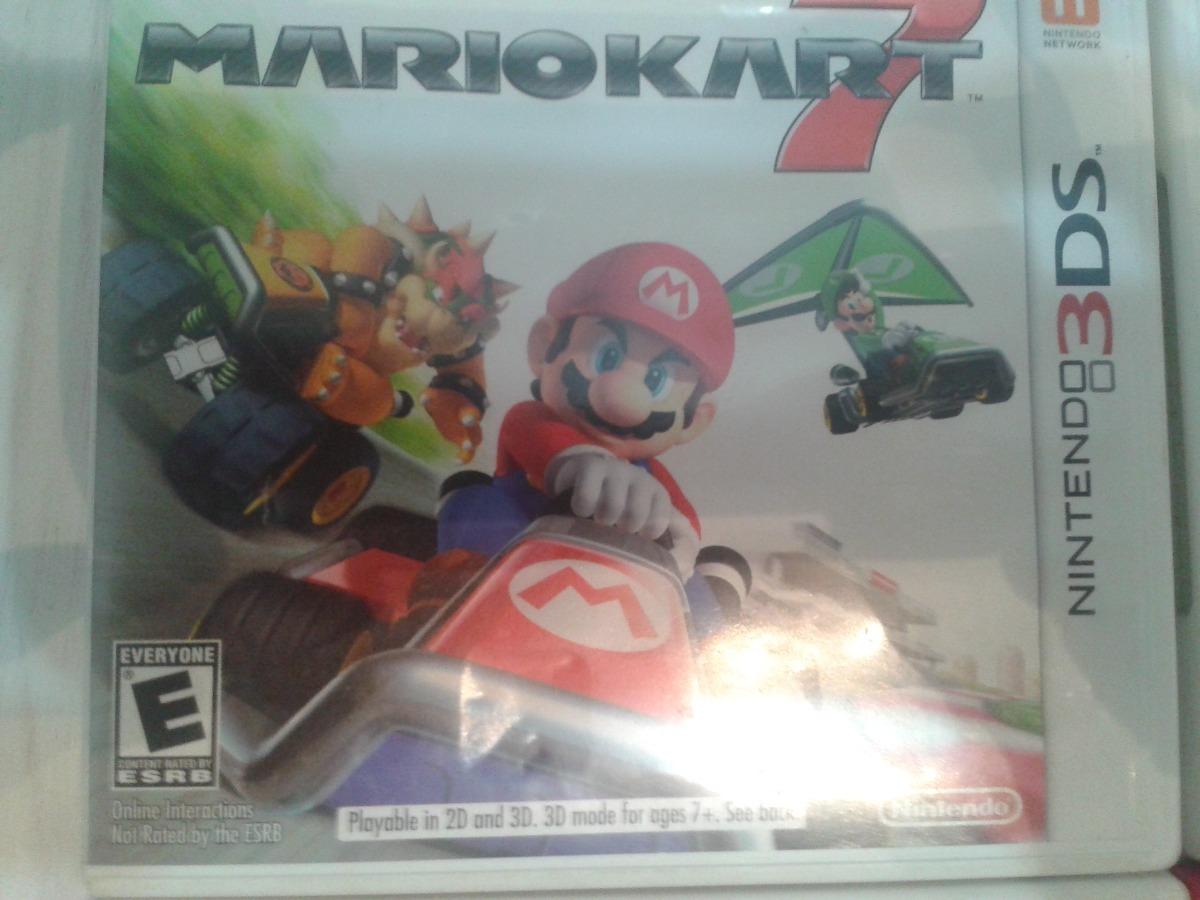 Juego Nintendo 3ds Mario Kart 1 199 00 En Mercado Libre