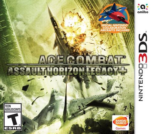 juego nintendo 3ds ace combat edicion legacy+ - fisico
