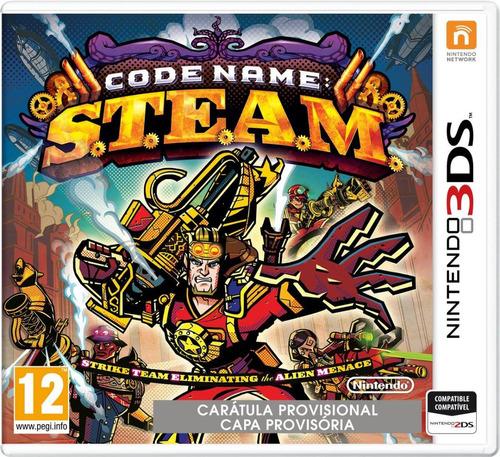 juego nintendo 3ds code name steam - original fisico