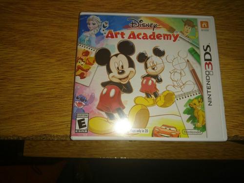 juego nintendo 3ds disney art academy