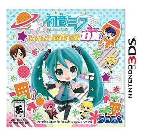 juego nintendo 3ds hatsune miku mirai dx - edicion especial