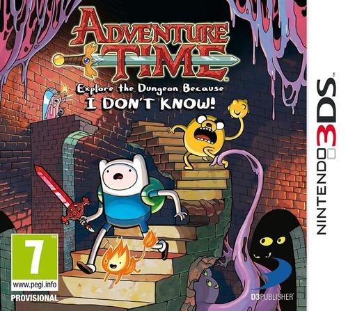 juego nintendo 3ds hora de aventura - original fisico