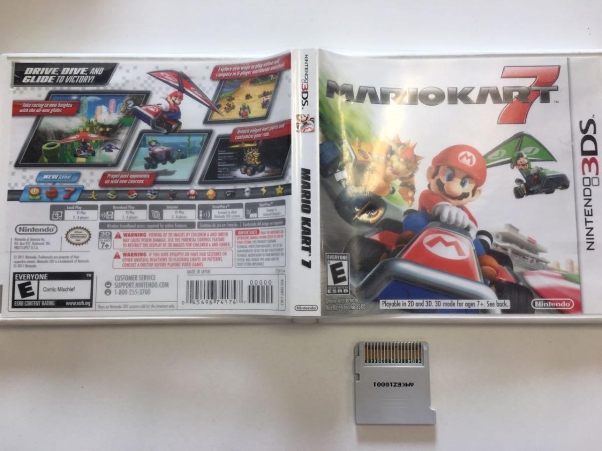 Juego Para Nintendo 3ds Mario Kart 650 00 En Mercado Libre