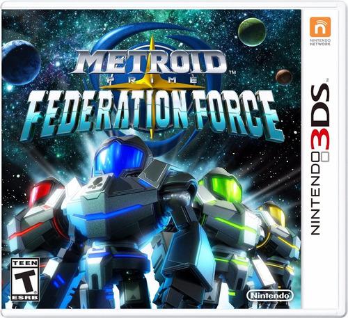 juego nintendo 3ds metroid prime federation force - fisico