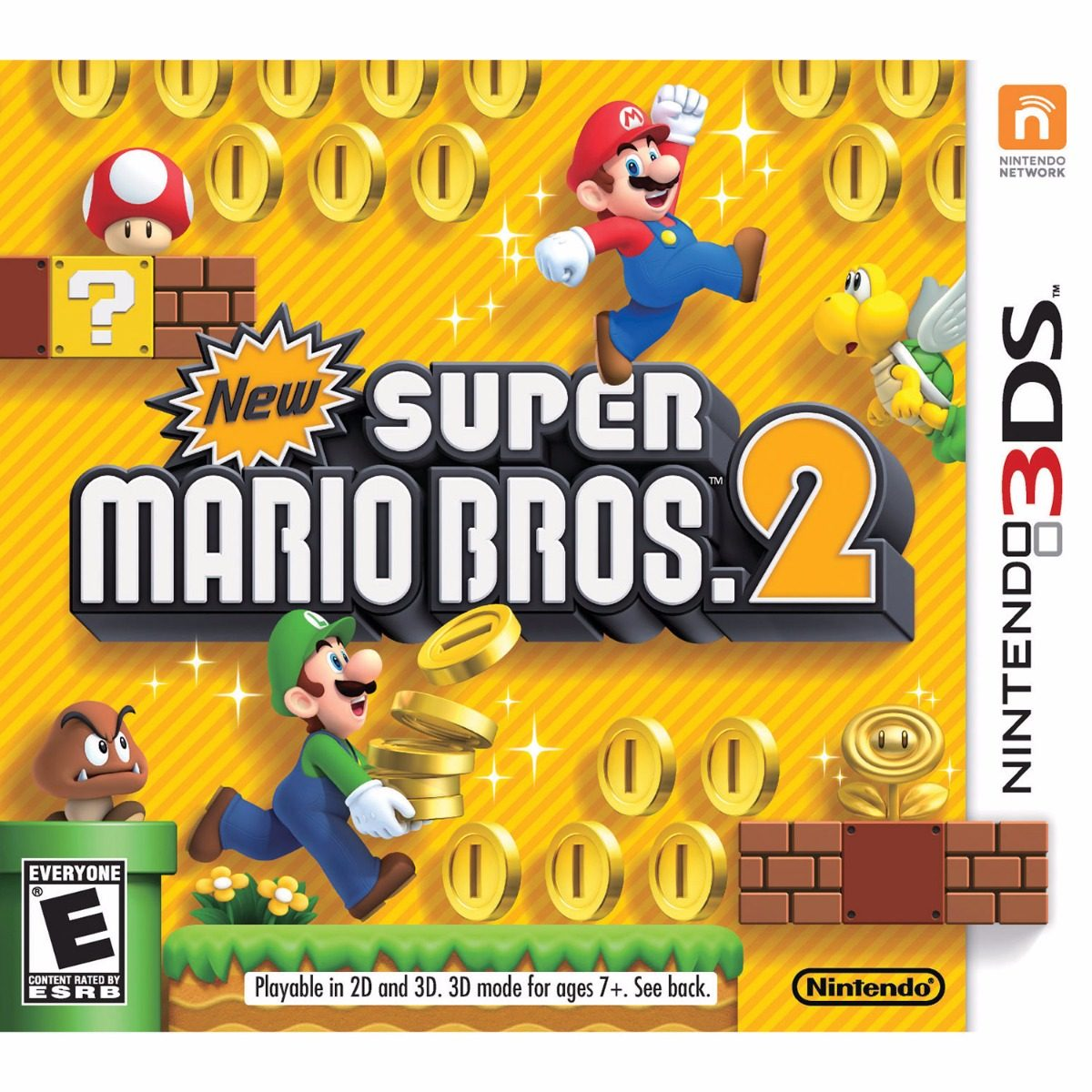 Juego Nintendo 3ds New Super Mario Bros 2 Original Fisico