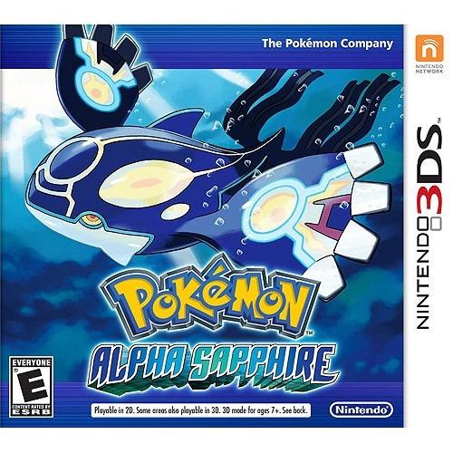 juego nintendo 3ds pokemon alfa zafiro - original fisico