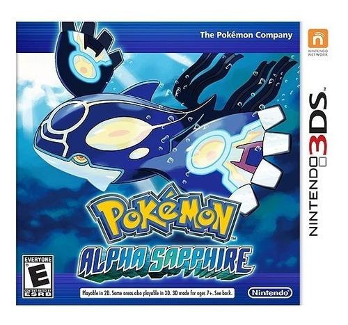 juego nintendo 3ds pokemon alfa zafiro - refurbished fisico