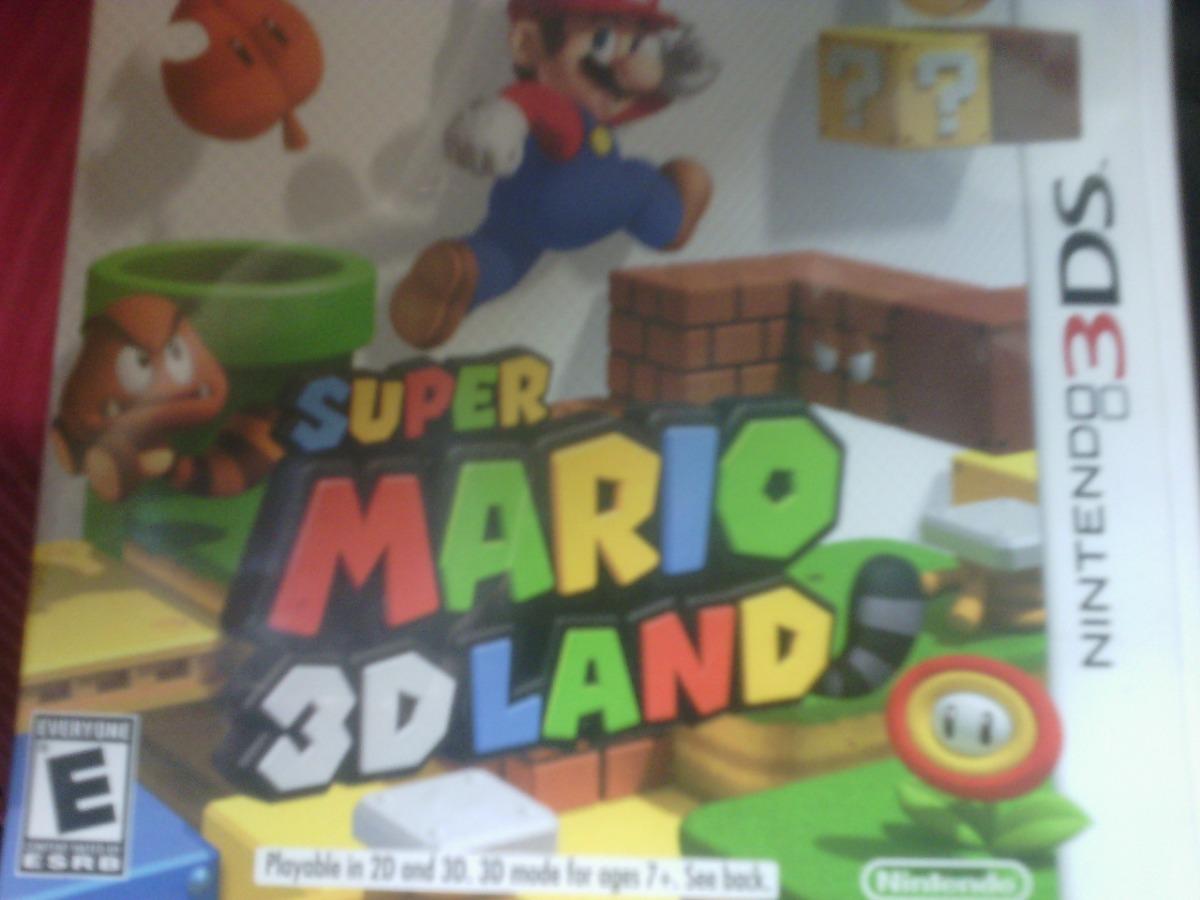 Juego Nintendo 3ds Super Mario 3dland Original Casi Nuevo Bs 500