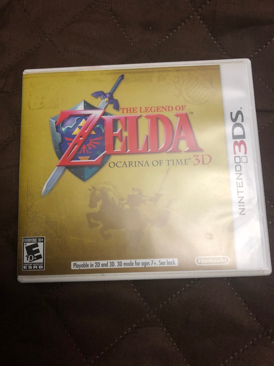 Juego Nintendo 3ds The Legend Of Zelda Ocarina Of Time 3d S 60