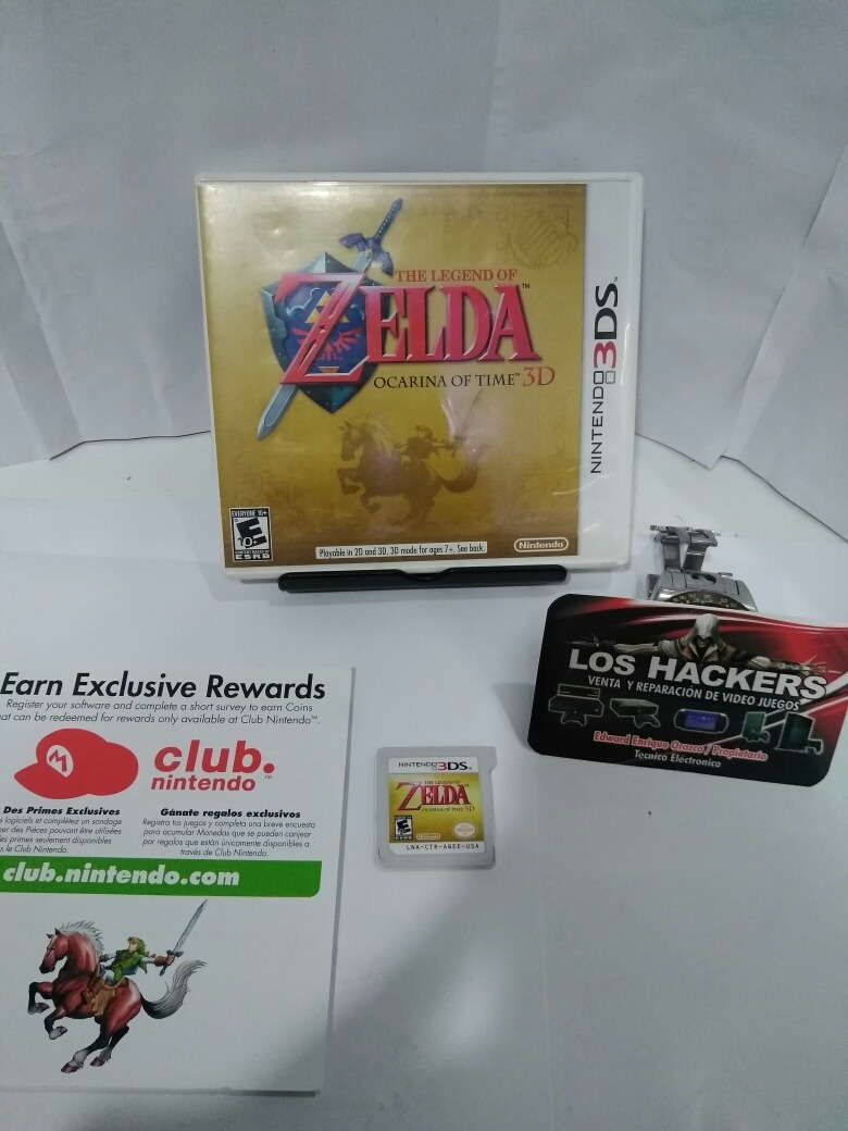 Juego Nintendo 3ds The Legend Of Zelda Ocarina Of Time 85 000 En
