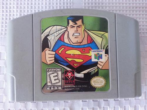 juego nintendo 64 n64 superman 64 muy buen estado