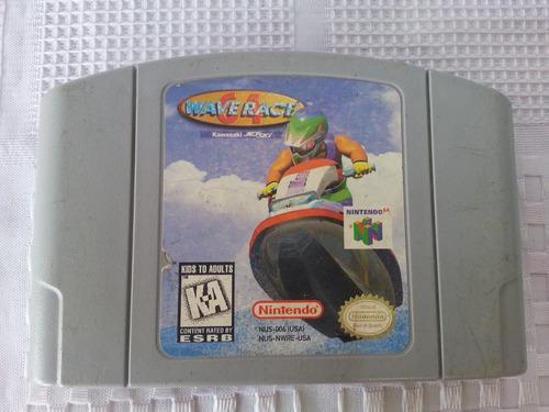 juego nintendo 64 n64 wave race 64 original