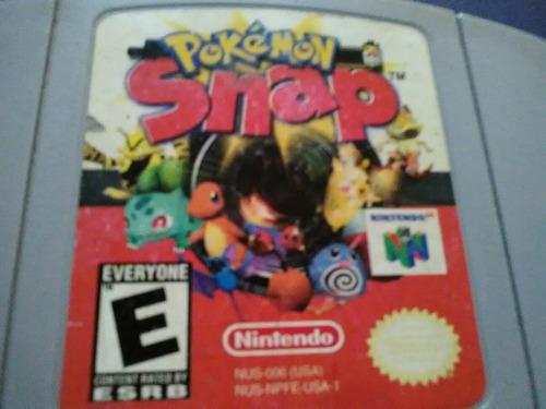 juego nintendo 64 pokemon snap