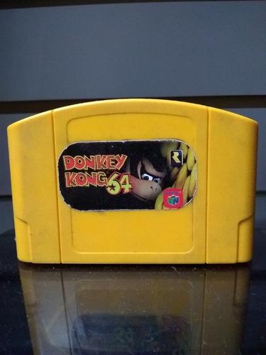 juego nintendo 64 usado donkey kong 64 cat9