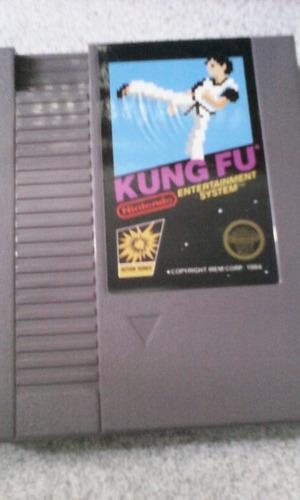juego nintendo americano nes kung fu retro