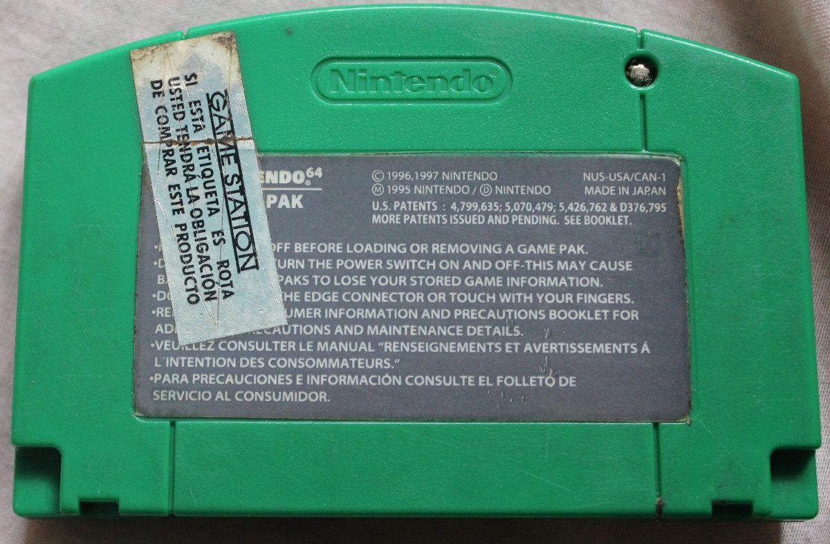 Juego De Nintendo 64 Rayman 2 The Great Scape Con Manual Bs