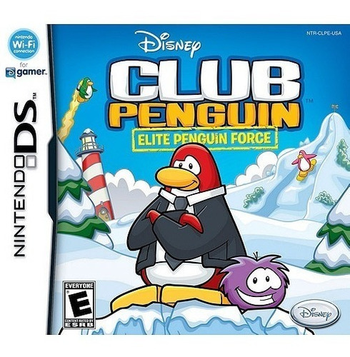 juego nintendo ds 3ds club penguin - refurbished fisico