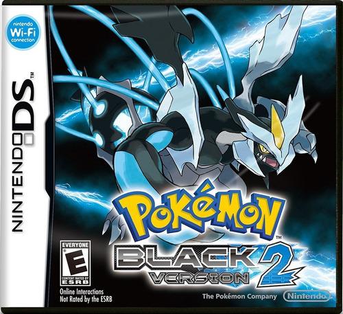 juego nintendo ds 3ds pokemon black 2 - refurbished