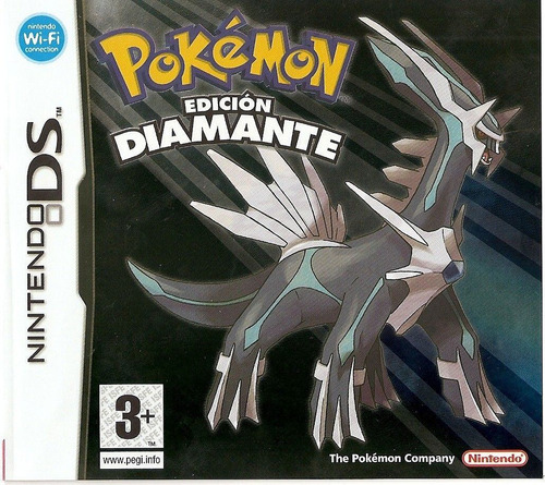 juego nintendo ds 3ds pokemon diamante español - refurbished