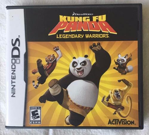 juego nintendo ds kung fu panda warriors original físico.