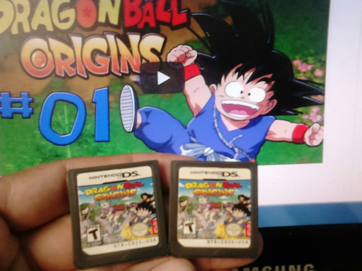 Juego Nintendo Ds Lite Dragon Ball Origins Generico Bs 2 39 En