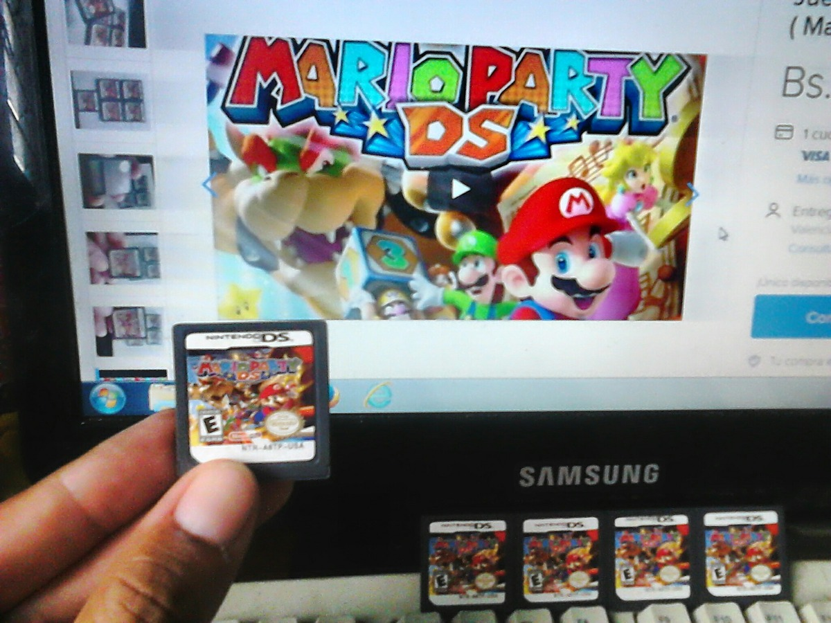 Juego Nintendo Ds Lite Mario Party Generico Para Ds Lite Bs