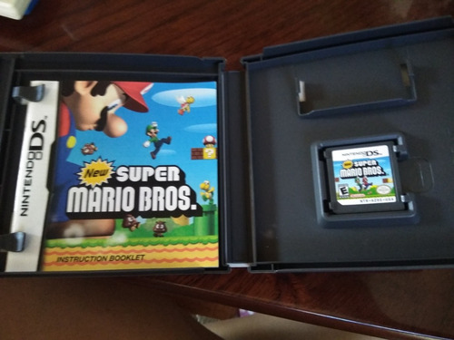 juego nintendo ds new super mario bros
