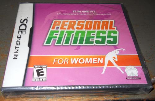 juego nintendo ds personal fitness for women, nuevo, sellado