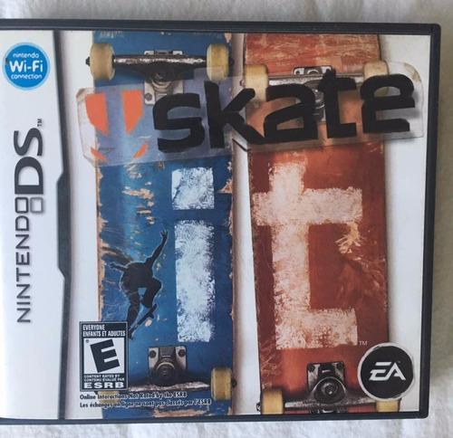 juego nintendo ds skate it patinetas original fisico