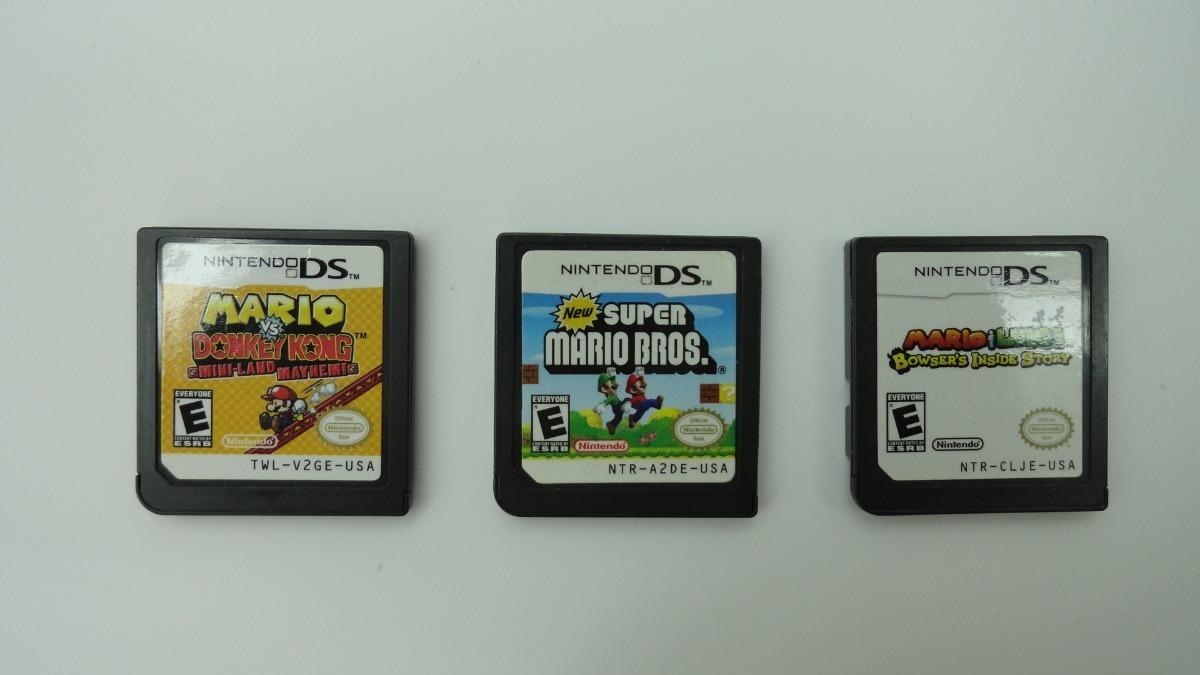 Juego Nintendo Dsi Xl Mario Bros Precio Por Unidad 1 500 00 En