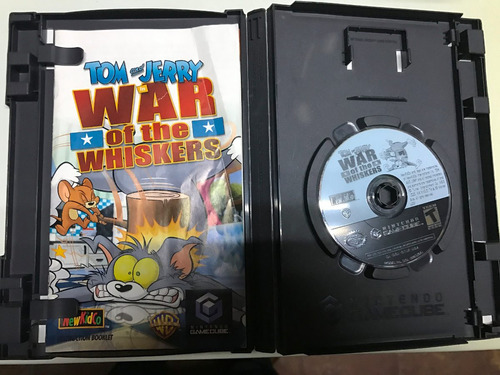 juego nintendo gamecube: tom & jerry in war of the whiskers