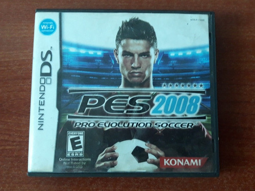juego nintendo pes 2008 3ds,2ds,ds