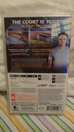 juego nintendo swicth tennis world tour nuevo