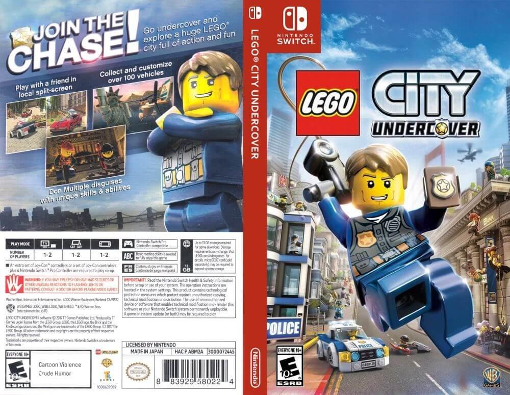 Juego City Undercover Lego Para Nintendo Switch Nuevo Gtia 1 280