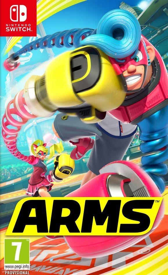 Juego Para Nintendo Switch Arms Fisico 1 830 00 En Mercado Libre