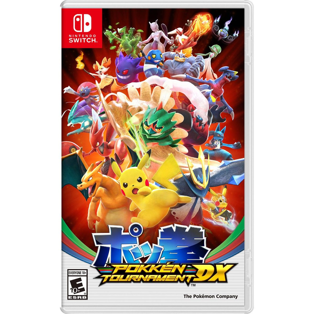 Juego Para Nintendo Switch Pokken Tournament Dx 2 199 00 En