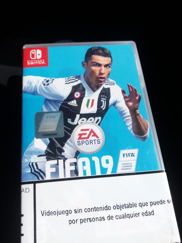 Juego Nintendo Switch Fifa 2019 45 000 En Mercado Libre