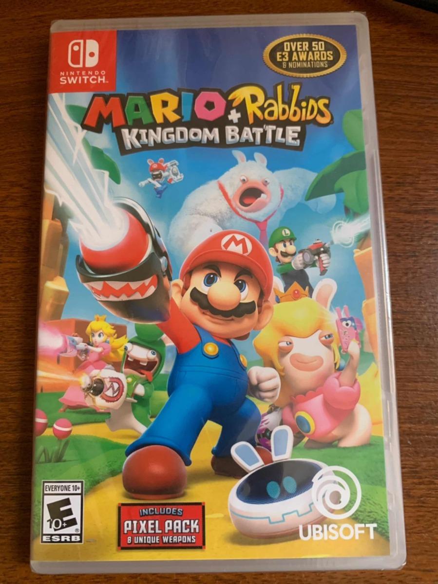 Juego Nintendo Switch Mario Rabbids Kingdom Battle Sellado U S