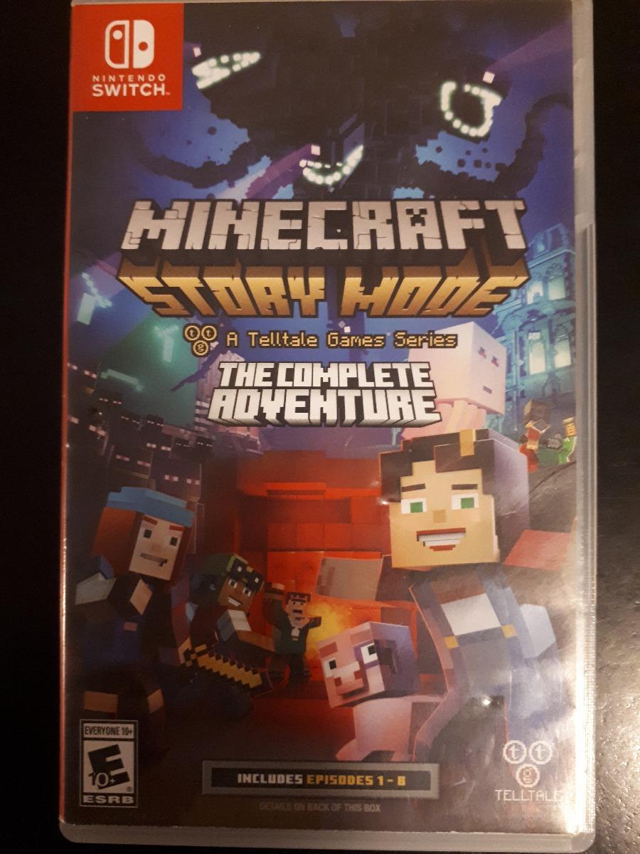 Juego Nintendo Switch Minecraft Story Mode Usado 2 000 00 En