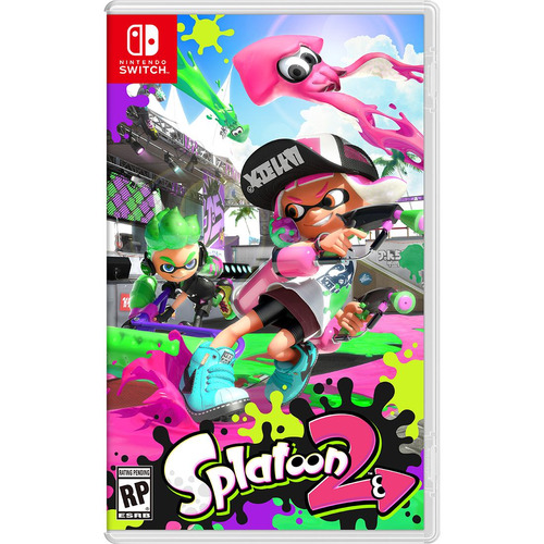 juego nintendo switch splatoon 2 nintendo