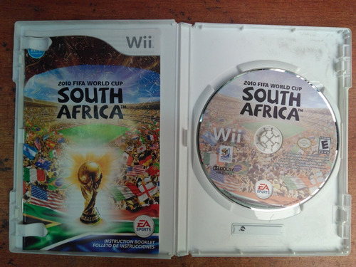 juego nintendo wii 2010 world cup south africa