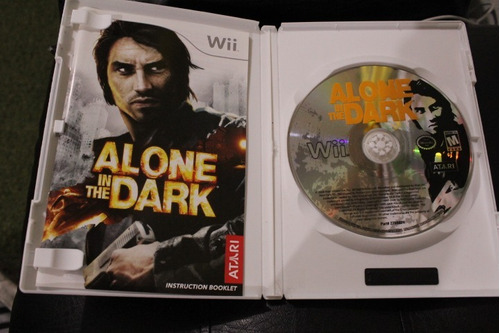 juego nintendo wii alone in the dark