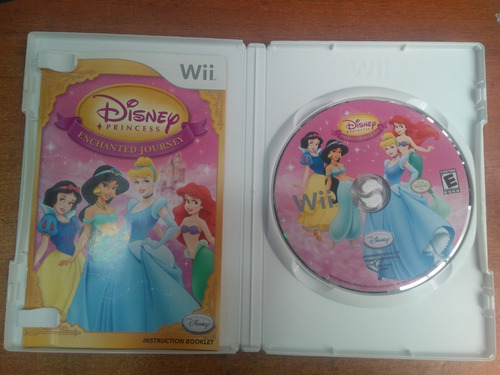 juego nintendo wii disney princess enchanted journey