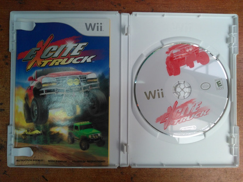 juego nintendo wii excited truck