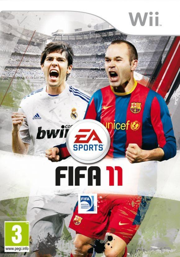 Juego Nintendo Wii Fifa 11 Pal Europeo Refurbished Fisico 350