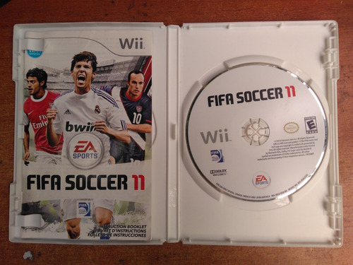 juego nintendo wii fifa soccer 11
