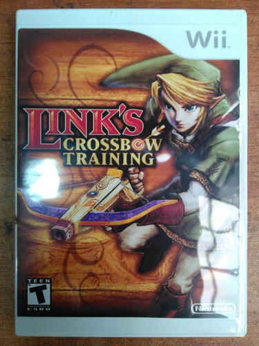 juego nintendo wii links crossbow training