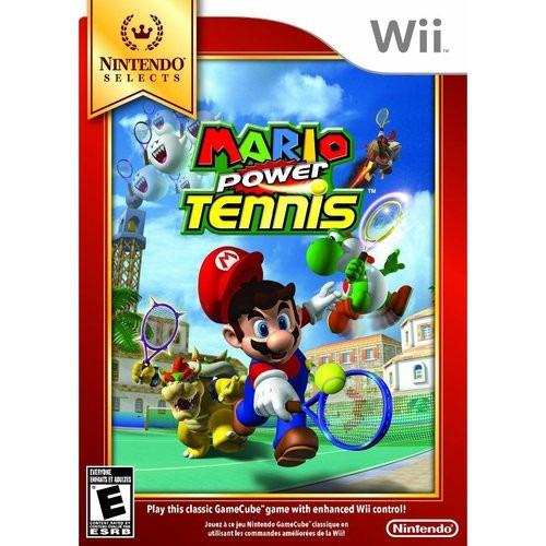 juego nintendo wii mario power tennis - refurbished fisico