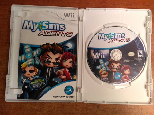 juego nintendo wii my sims agents