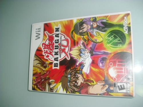 juego nintendo wii original bakugan battle brawlers